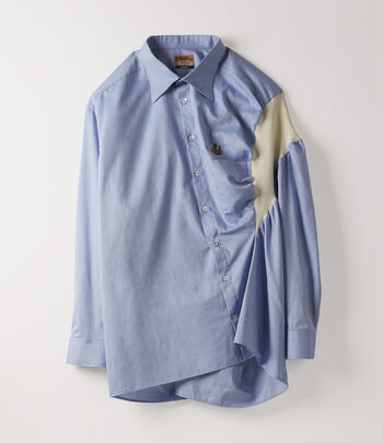 851c3f8d10178 Vivienne Westwood Women's Designer Tops and Shirts | Women' clothing |  Vivienne Westwood - Business Shirt Sky