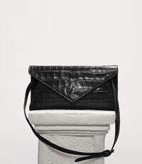 Lisa Envelope Clutch Black