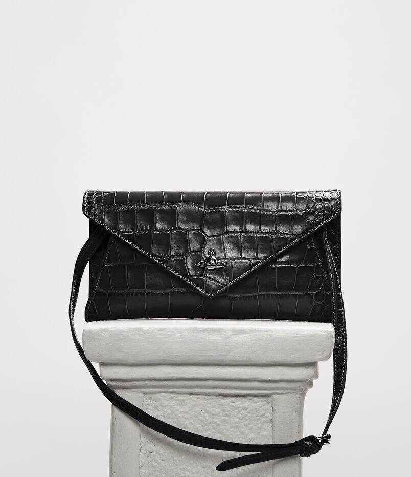 4867ab86127e Lisa Envelope Clutch Black