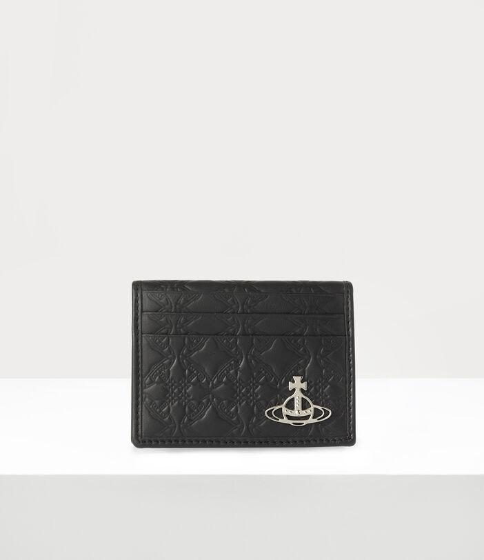 George Man Card Holder Black 1