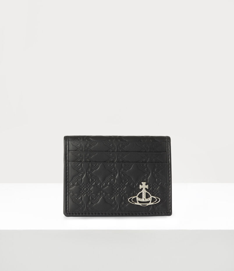 George Man Card Holder Black