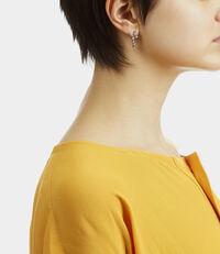 Constellation Earrings Gunmetal Tone