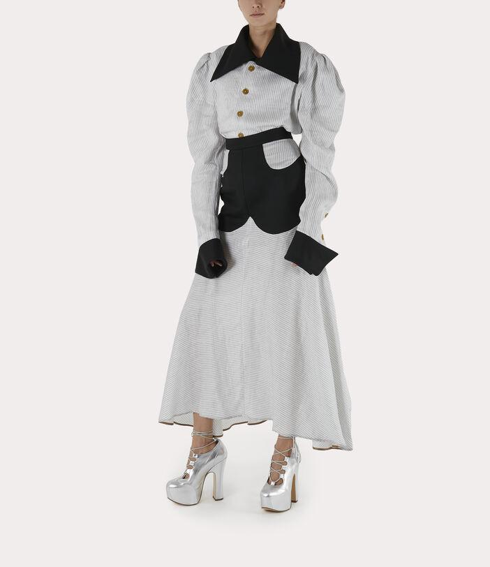Albertine Skirt White/Black 2