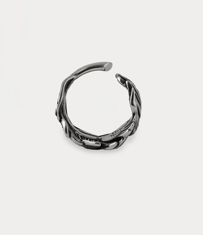 Eugenio Ring Antique Silver-Tone 4