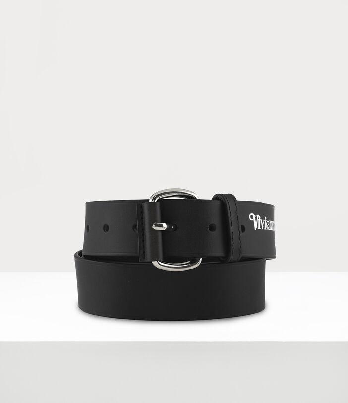 Roller Buckle Belt Black 1