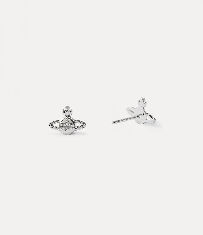 Farah Earrings Silver-Tone 2
