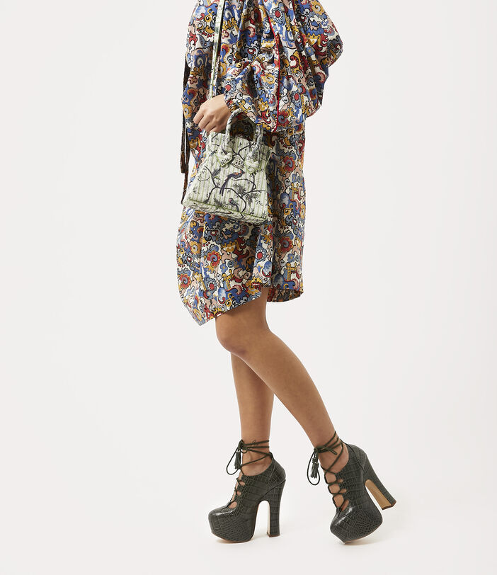 Kelly Small Handbag Bird Of Paradise Print 2