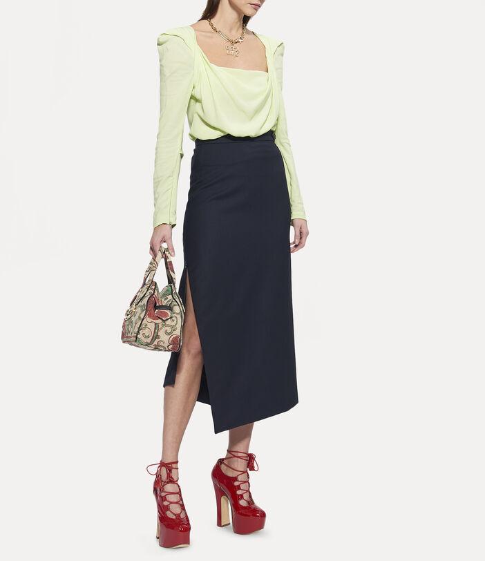 Midi Infinity Skirt Black 2