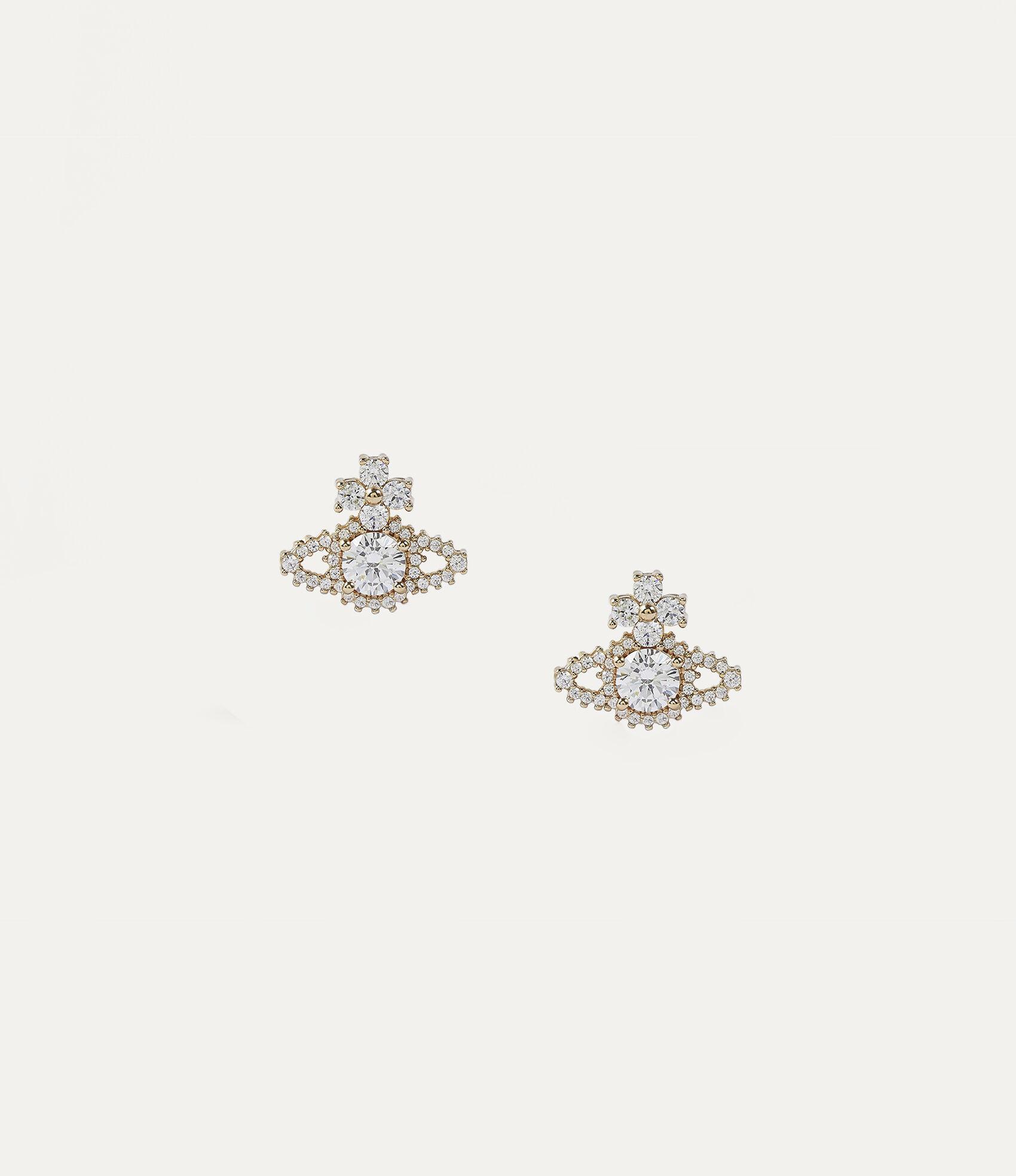 42903b2e9 Valentina Stud Earrings Golden Tone | Women's Earrings | Vivienne ...