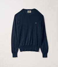 Roundneck Knit Blue Navy