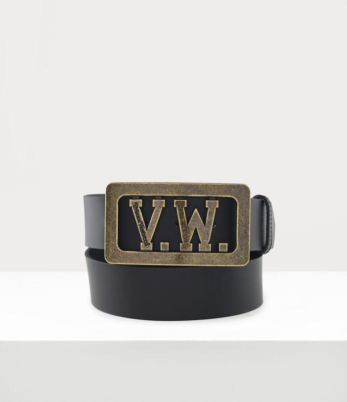 Vw Buckle Belt Black 1