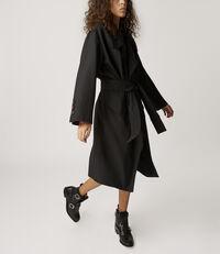 Wilma Wrap Coat Black