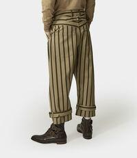 Samurai Trousers Khaki/Military Green