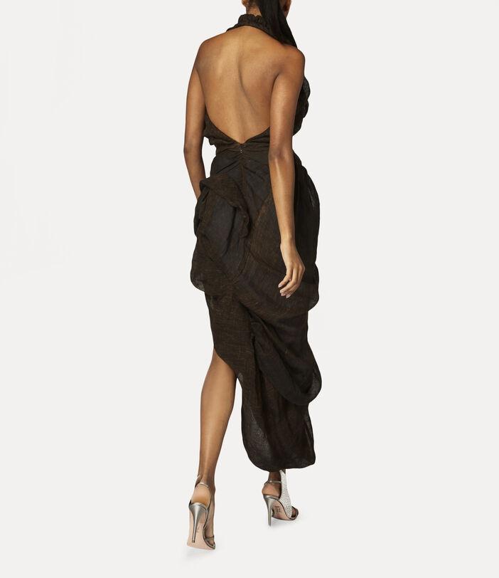 Helenae Dress Brown 4