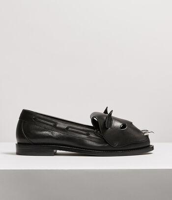 Vivienne Westwood Women's Designer Flats Women | Vivienne Westwood - Tiger Loafers Black