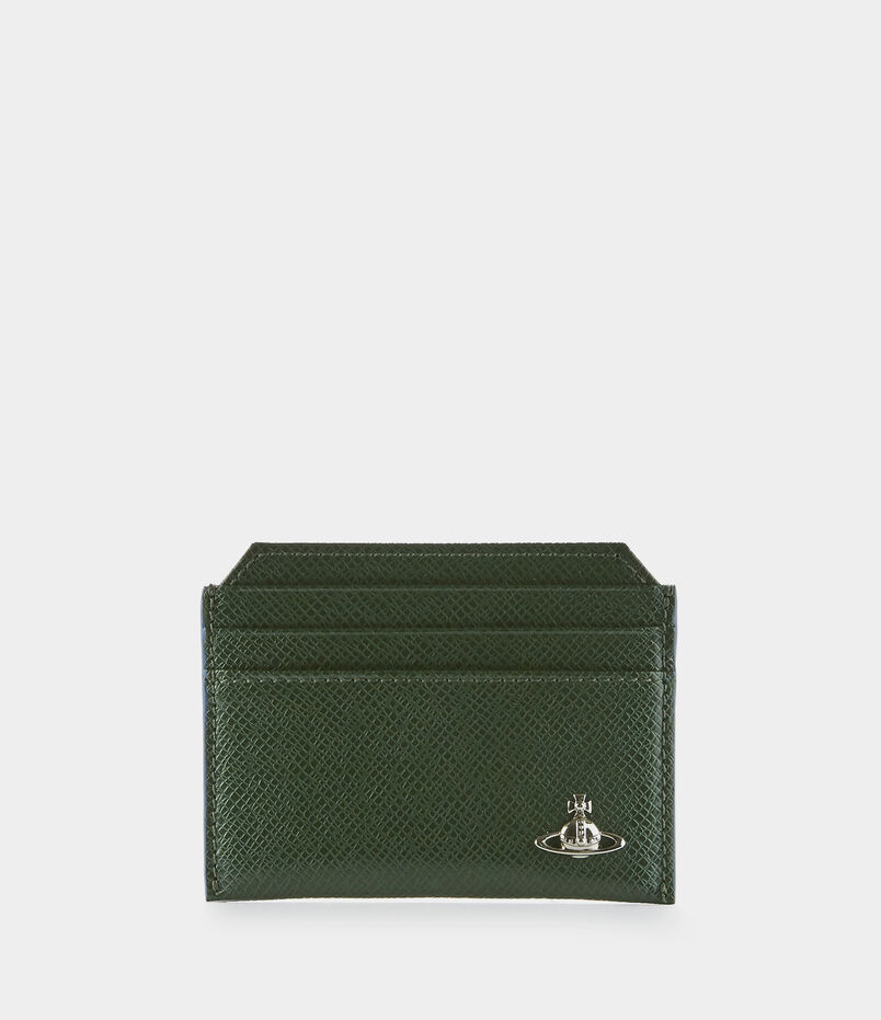 Kent Slim Card Holder Green