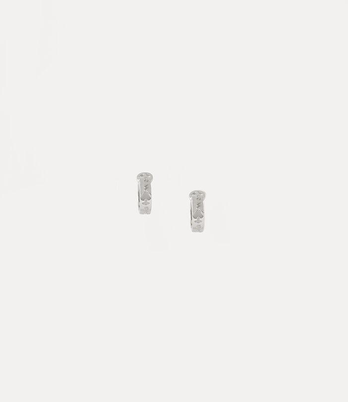Bobby Earrings Silver-Tone 2