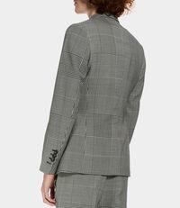 Waistcoat Jacket Black/White