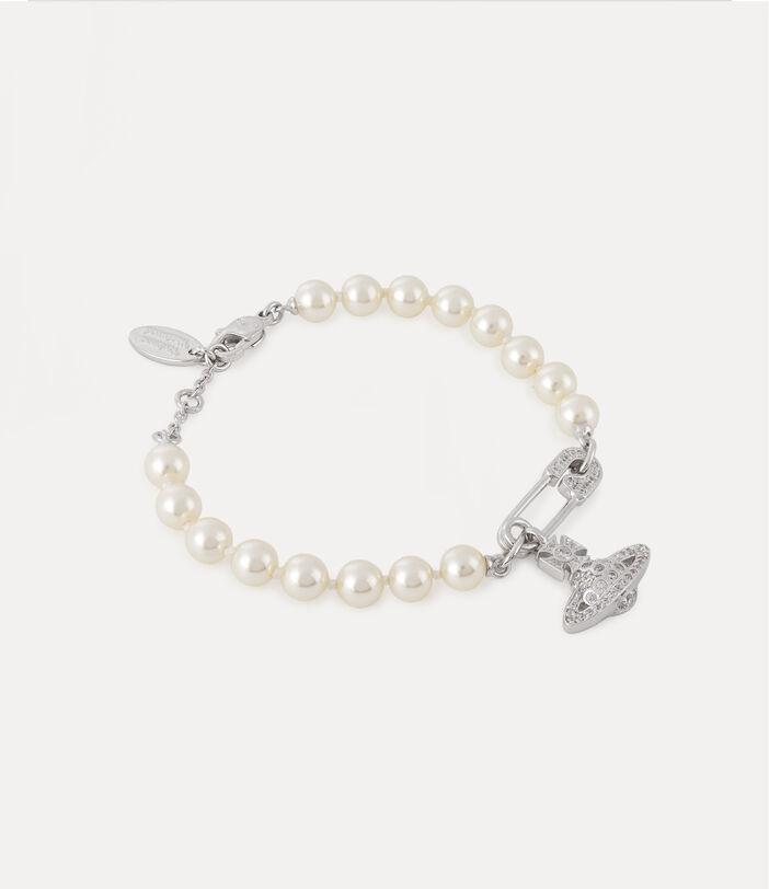 Lucrece Pearl Bracelet Silver-Tone 2
