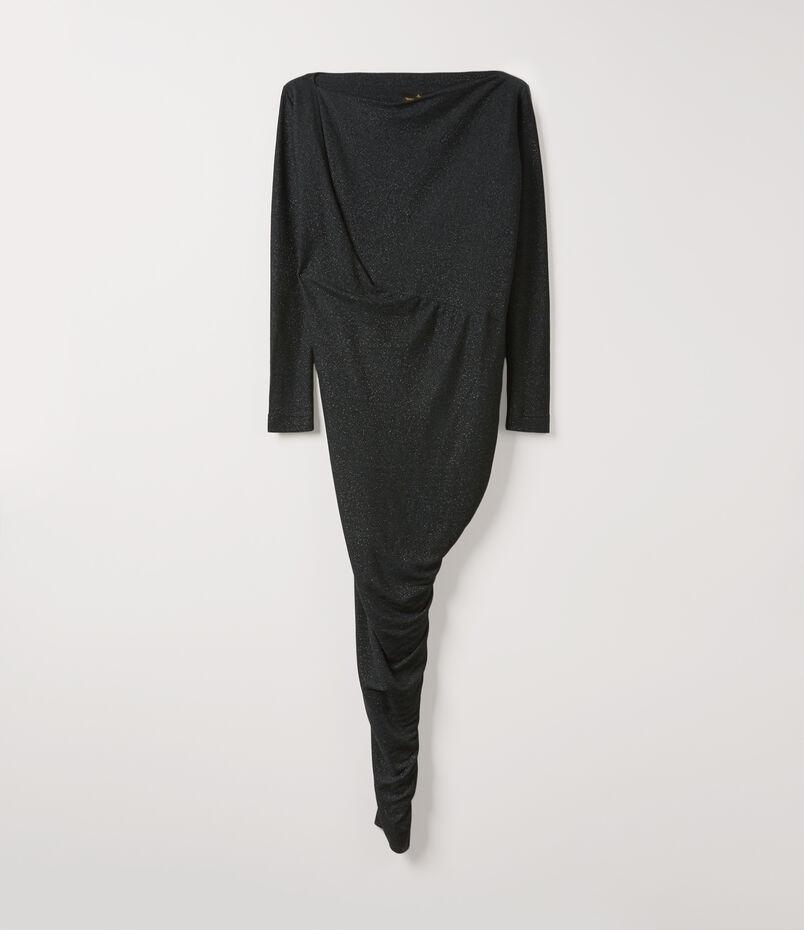 Long Sleeve Vian Dress Black