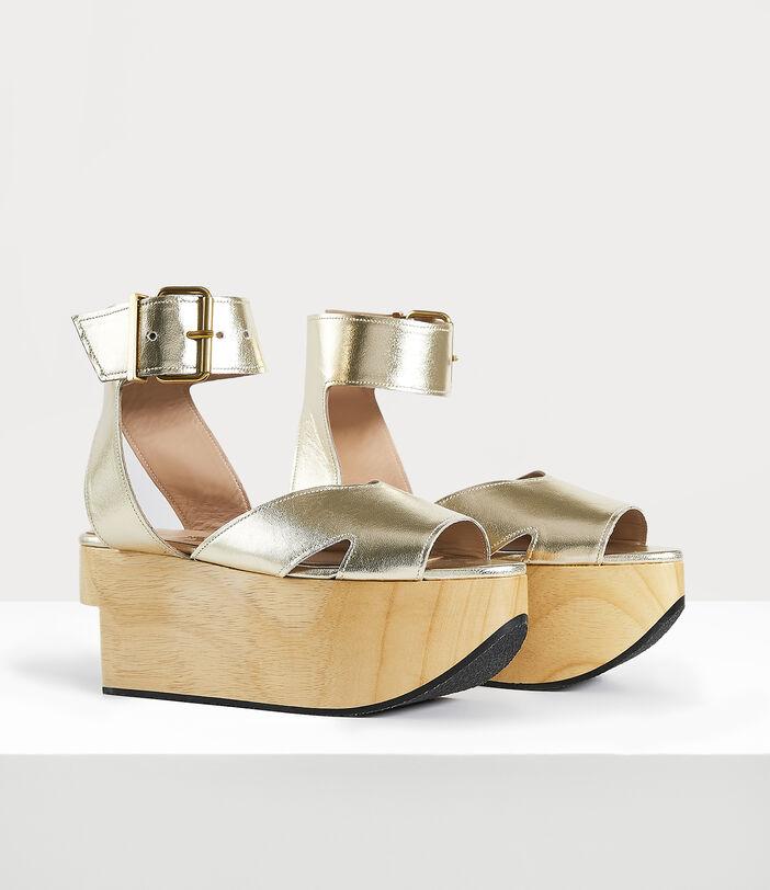 Rocking Horse Pagan Sandal Gold 2