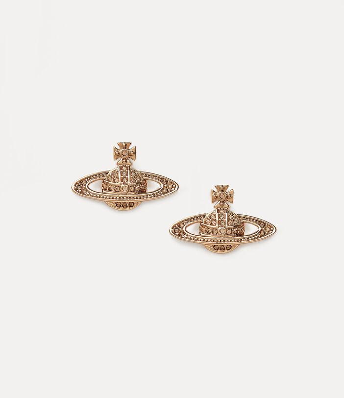 Mini Bas Relief Earrings 1
