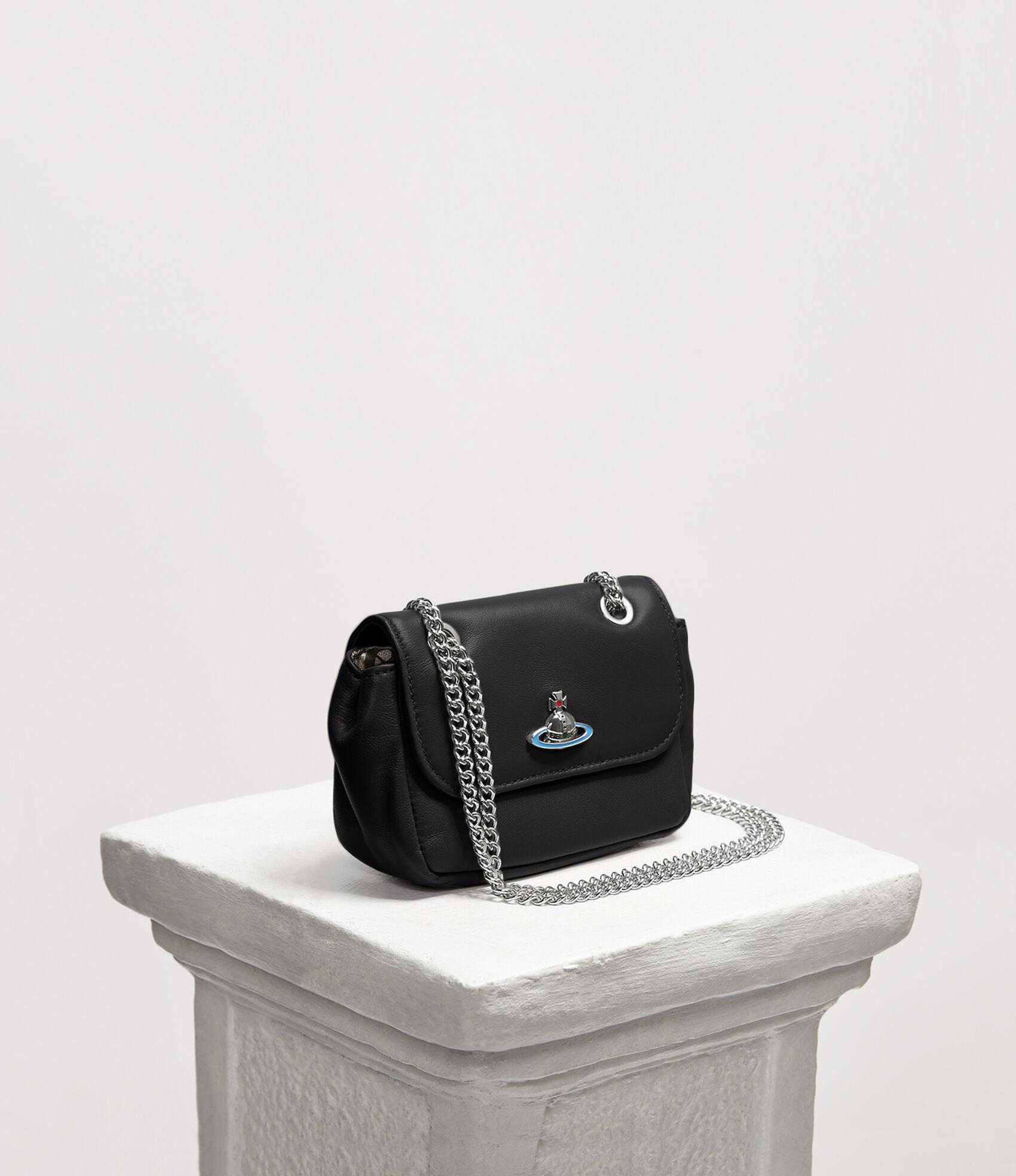 eedeb2849eb Vivienne Westwood Women's Designer Wallets and Purses | Vivienne Westwood - Emma  Purse With Chain Black