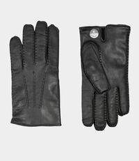 Hand Stitch Gloves Black