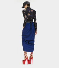 Push Forward Skirt Blue