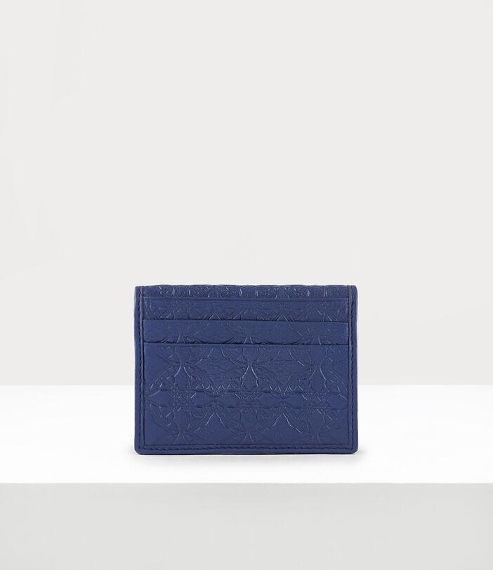 George Man Card Holder Blue 3
