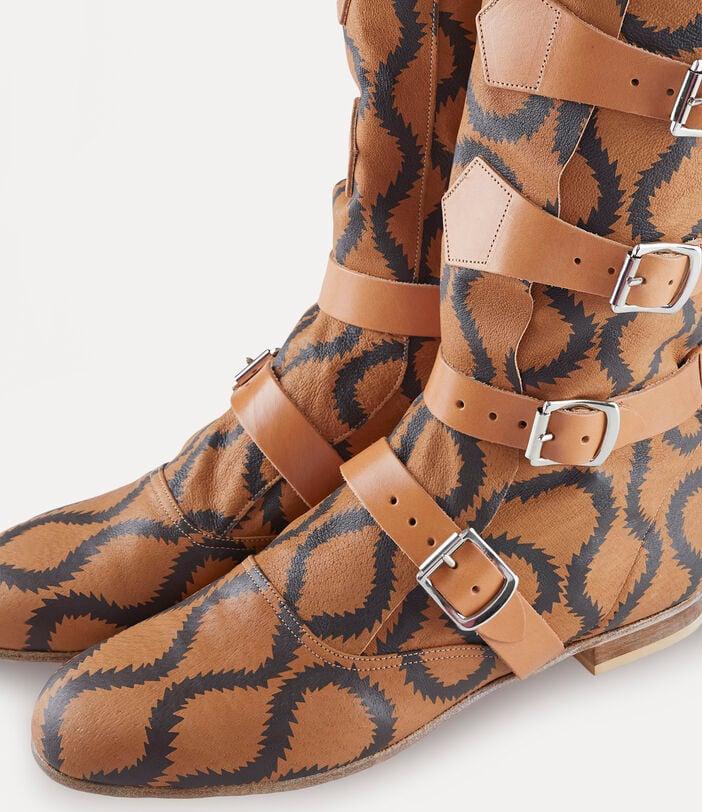 Pirate Boots Tan/Brown 5