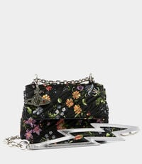 Velvet Coventry Medium Handbag Flower