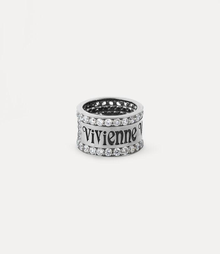 Fosco Ring Silver-Tone 1
