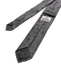 Multi Orb Jacquard Tie Grey