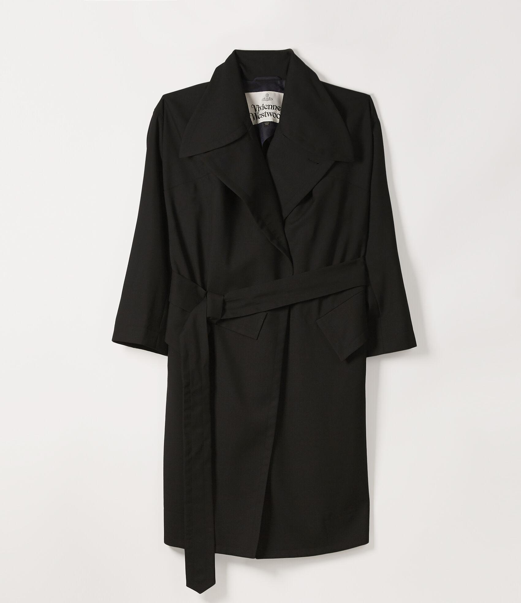 Wilma Wrap Coat in Black from Vivienne Westwood