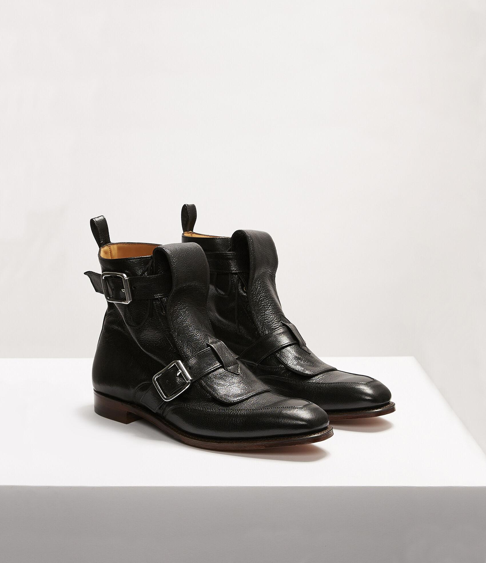 59a9bbf94820f7 Seditionary Punk Boots Black