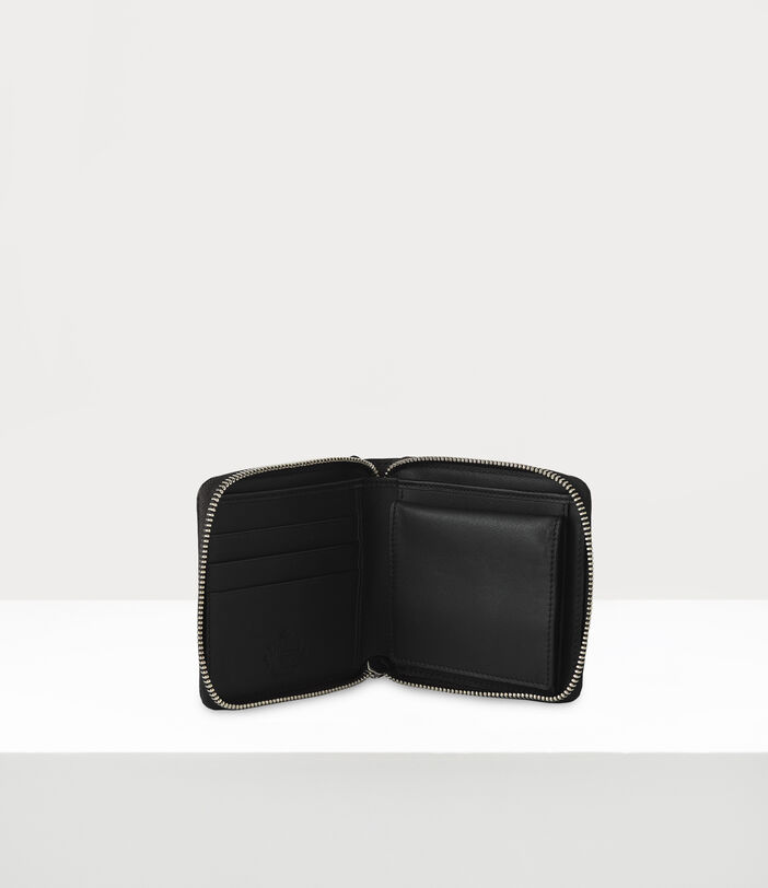 Kent Rounded Square Wallet Black 3