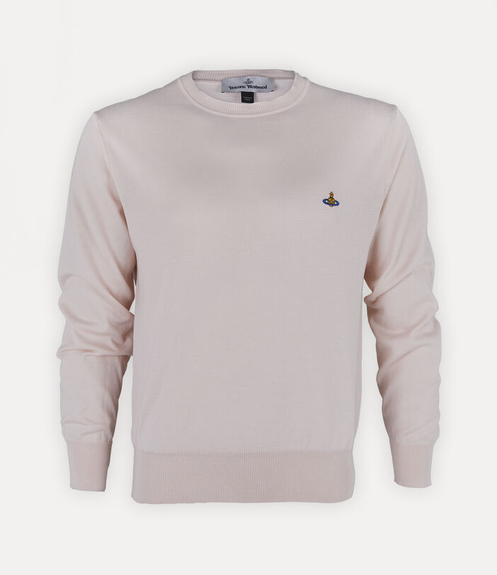 Classic Roundneck Sweater Pink 1