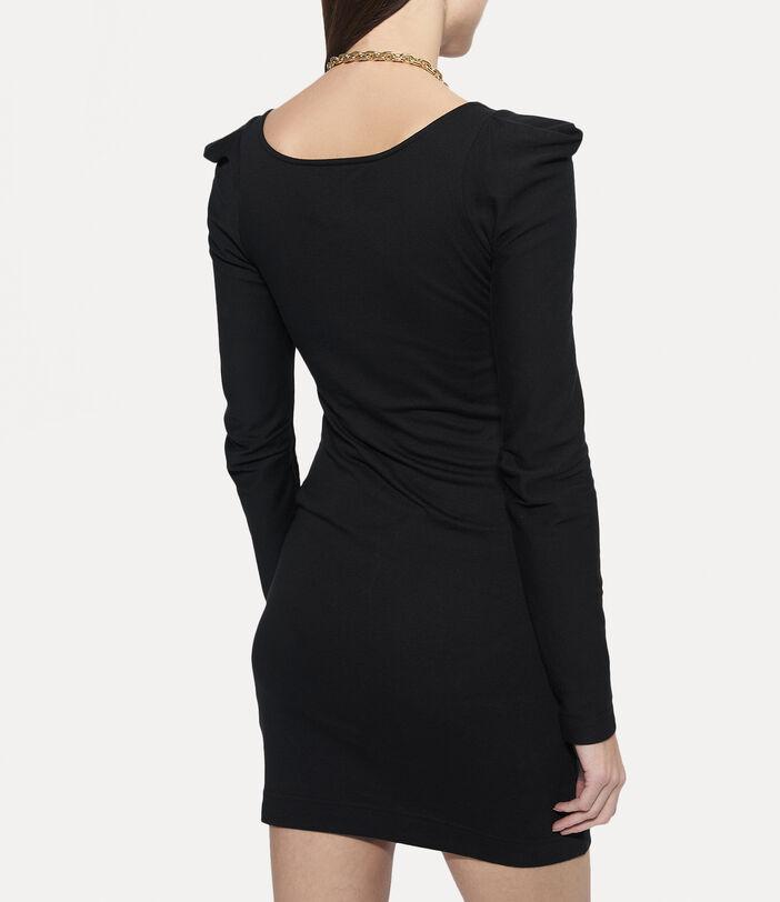 Elizabeth Jersey Dress Black 4