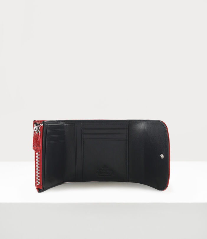 Josephine Medium Wallet With Coin Pocket Red 3