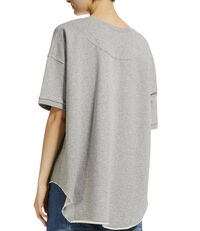 Baggy T-Shirt Grey Melange