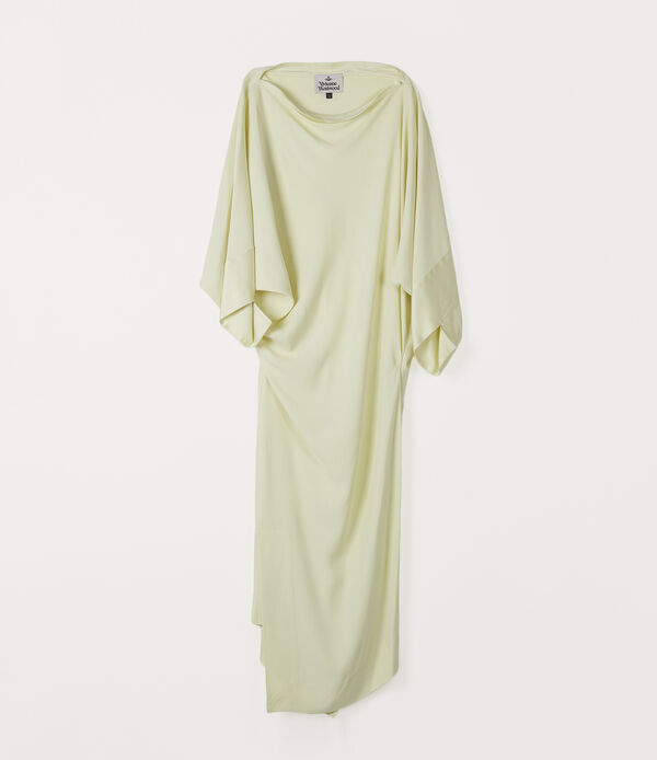 Midi Infinity Dress Pale Yellow