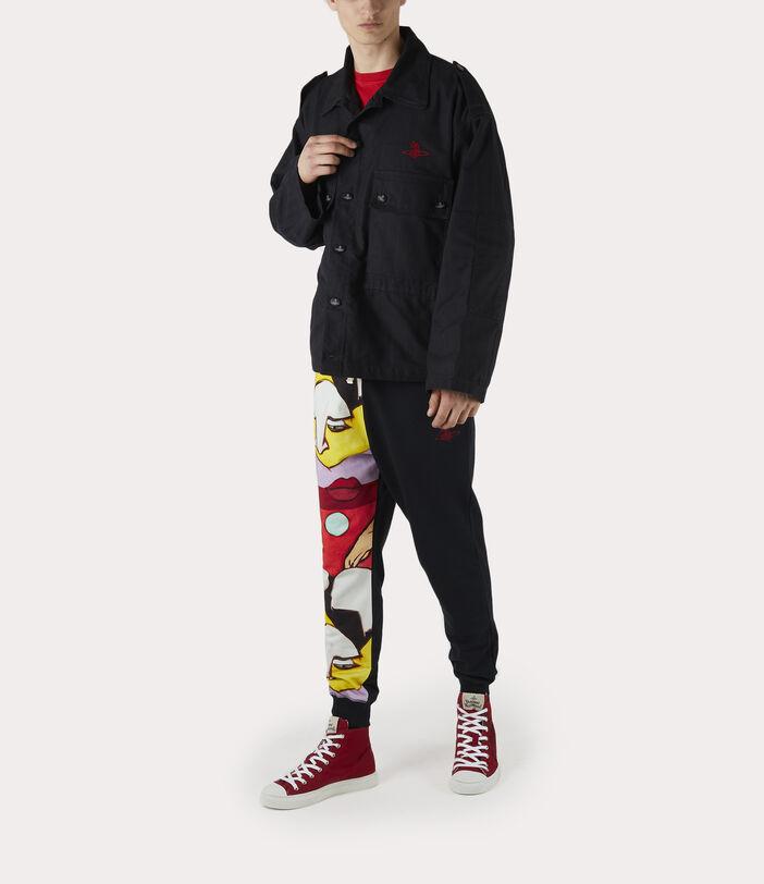 Ben Overshirt Black Check Herringbone 6