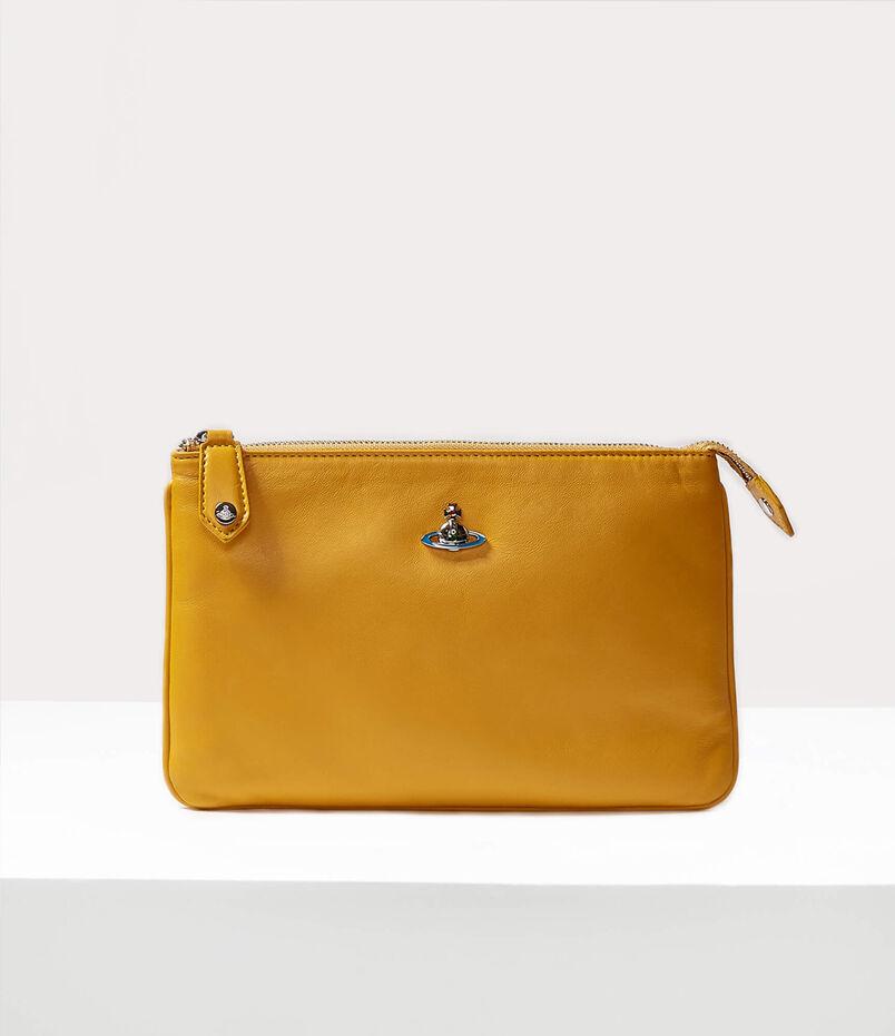 Emma Top Zip Purse Yellow