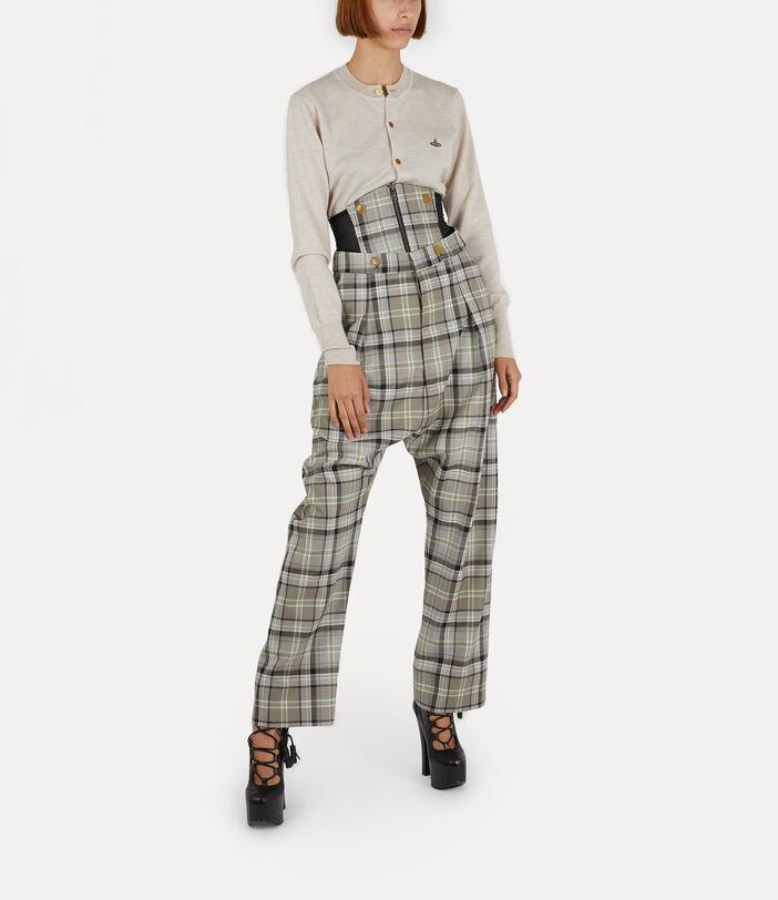 Corset Trousers Tartan 2