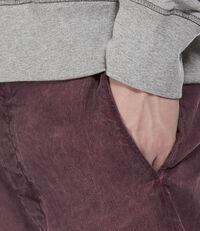 Cropped JB Trousers Bordeaux