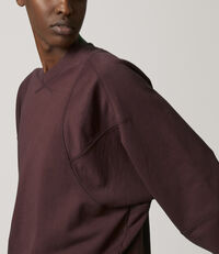 Pourpoint Sweatshirt Bordeaux