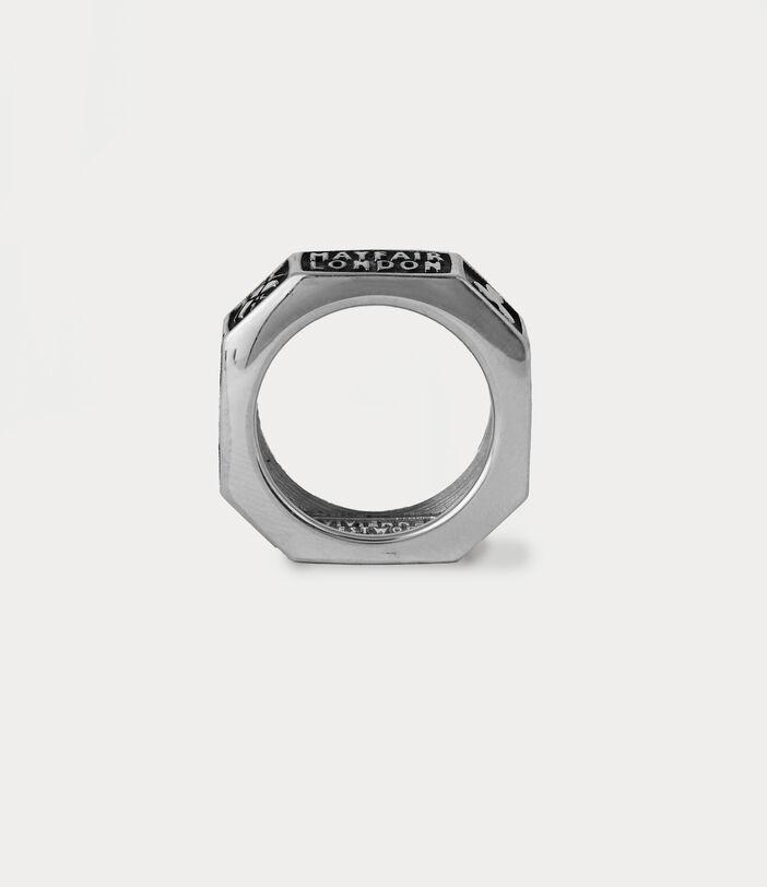 Samos Ring Silver-Tone 3