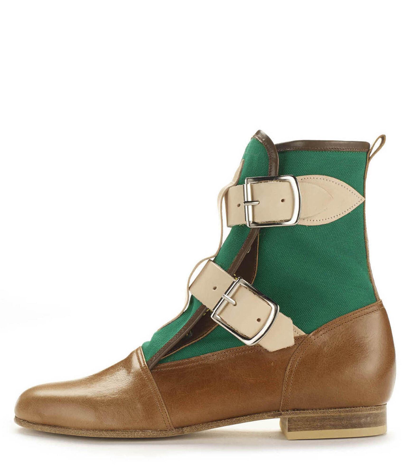 Seditionaries Boot Tan/Green