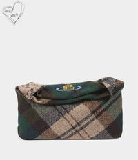 Tintwistle Clutch Green Tartan